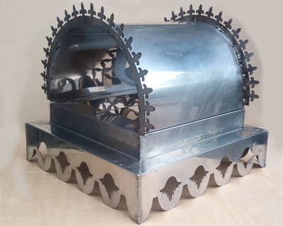 Дымник, флюгарка -колпак на трубу из нержавеющей стали.