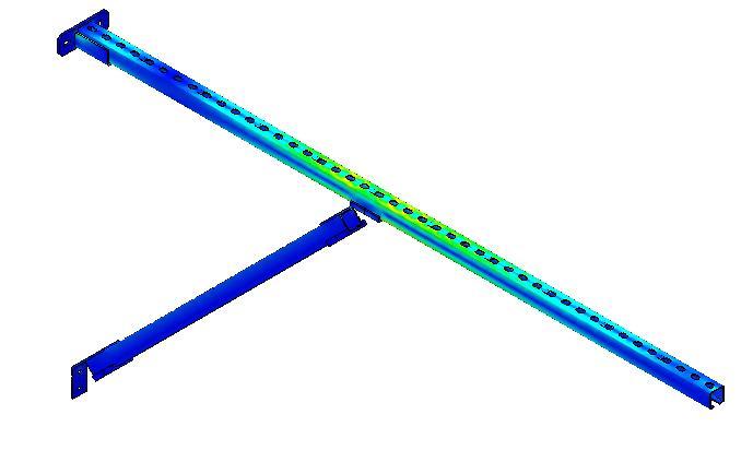 Консоль для труб с большим вылетом