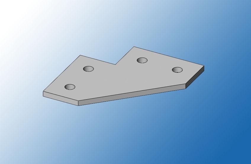 Пластина соединительная ПС38-4У