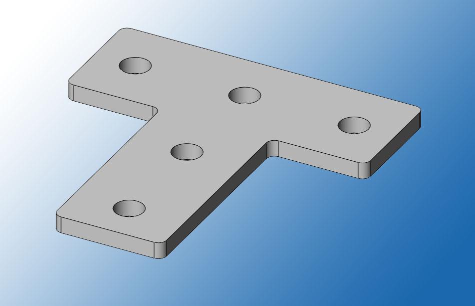 Пластина соединительная ПС38-5Т