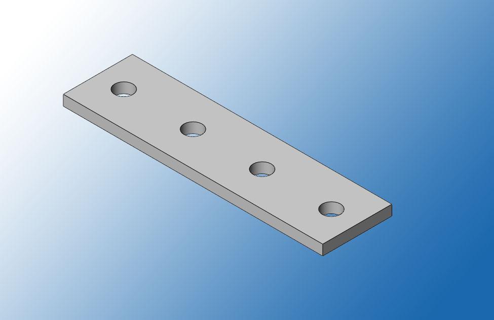 Пластина соединительная ПС38-4