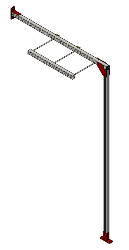 Кронштейн вертикальных вентакалов